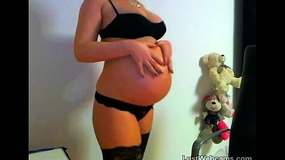 Meaningful newborn toys personally on webcam