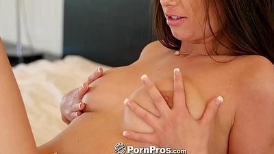 PornPros - Italian with natural boobs Gia Love fucked by muscular man