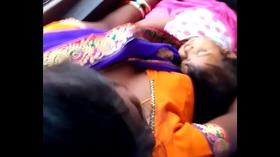 Telugu kavya aunty boobs nearly bus20160717 061519