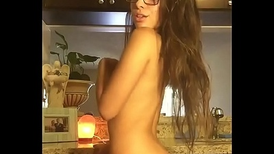 Chap-fallen School Widely applicable with Erotic Glasses Sex-toy in Cum-hole on Cam - GirlTeenCams.com