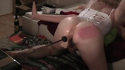 Anal tool ghetto-blaster making out ts tv self fuck spanking anal invasion sex tool stretching 2