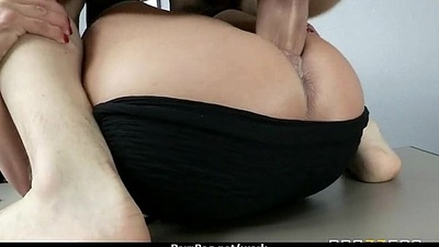 Big Mamma Caucasian Floosie Team-fucked In the lead Office 4