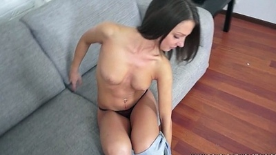 DOUBLEVIEWCASTING.COM - FOXI DI FULFILLS ANAL Objective (POV VIEW)