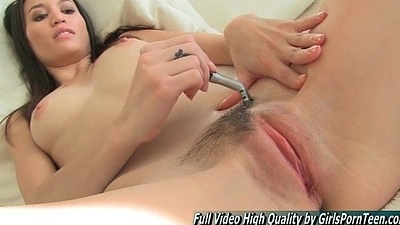 Pubic Aubrey hair shaving pretty vest-pocket-sized vagina