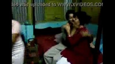 Bangladeshi Hot Village woman kissing forth her boyfriend - Wowmoyback