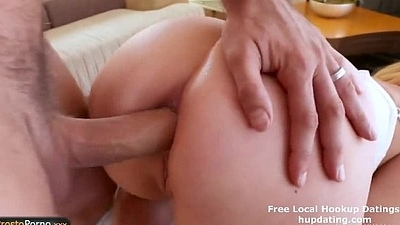 Amazing auriferous girl just about big titties with an increment of interesting ass