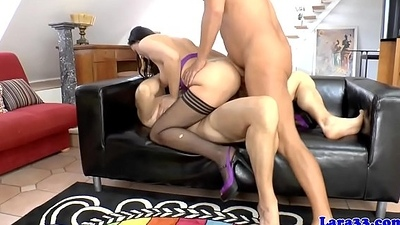 British milf doublepenetrated during mmf