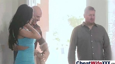 Intercourse Cheating Enmired With (jaclyn jessica) Horny And Sluty Housewife clip-08