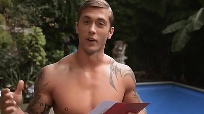 Dan Osborne jump just about to be imparted to murder pool naked.