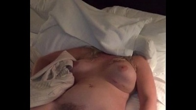 gold wife sleeping bared
