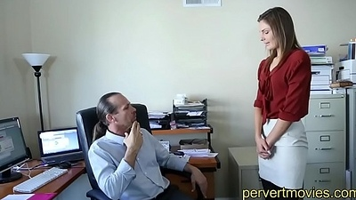 Unartificial Teen assfucked by VIP at Work