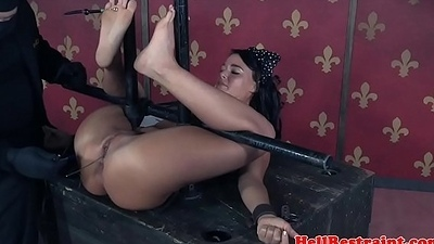 Electricsex in a tizzy filial dildo played