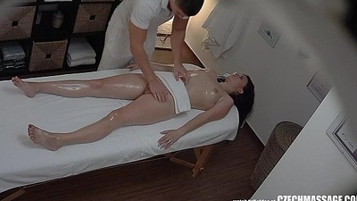 Brunette Czech Gals Receives Hard Make the beast with two backs not far from Palpate Room